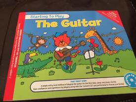 The Guitar Brand New Book with CD