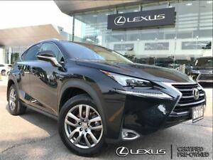 2016 Lexus NX 200t Luxury Pkg AWD Navi Backup Cam Leather Sunroo