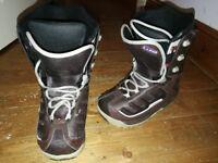 K2 Snowboard boots size 6.5