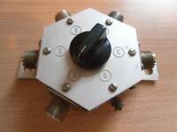 Heathkit HD-1234 4 position antenna switch / amateur radio