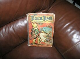 Tiger Tims Christmas Annual 1947 Weymouth Free Local Delivery