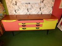 Vintage Gplan sideboard retail storage shelving drawers