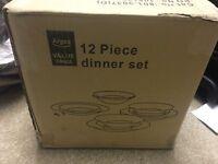 Argos Value Range - 12 Piece Dinner Set