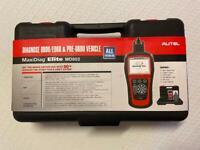 Autel MaxiDiag Elite MD802 Car Diagnostic OBD2 Scanner ABS SRS Very good condition