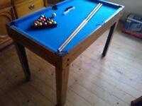 MULTI USE GAMES TABLE, POOL, FOOTBALL, HOCKEY, TABLE TENNIS, CHESS ETC, KIDS PLAY ROOM
