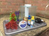 Small Fish Tank/ Starter Kit