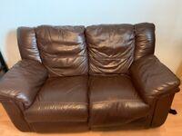 Leather sofa set for sale