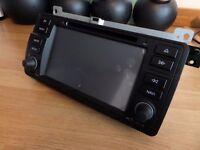 BMW E46 Double Din Headunit/Stereo Touchscreen Sat nav, Bluetooth, CD Player