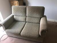 Sofa bed and recliner set
