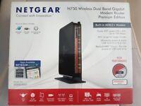 Netgear N750 Wireless Dualband GBbit Router