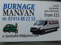 Burnage Man and Van Home Removal and Rubbish Removals services.