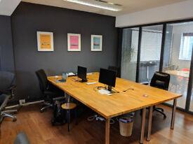 Deskspace in creative & friendly co-working office, Park St. from £15 + VAT per day