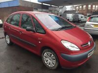 CITROEN XSARA PICASSO LX 8V ESTATE VERY CLEAN CAR 2 KEYS MOTMARCH 16 2018