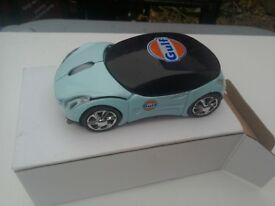 Gulf Oil car mouse NEW BOXED