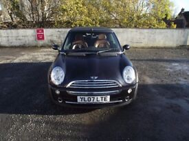 2007 mini cooper side walk convertible, 2 lady owners from new,full service history.great condition.