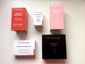 Dr Sebagh cosmetics : SERUM REPAIR, VITAMIN C POWDER CREAM, ROSE DE VIE SERUM, SUPREME MAINTENANCE