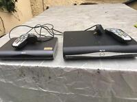 Sky HD+ box, Sky HD box and wireless connector