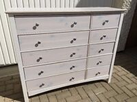 Premier 10 Drawer chest (Real Wood)