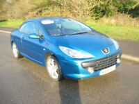 2006 56 Peugeot 307 Sport CC Convertible 2.0 in good condition inside and out MOT September