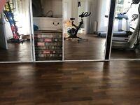 Gym wood sprung floor