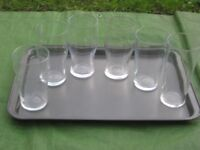 Seven Various Sets of Drinking Glasses - Each Set is £2.00