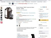 Morphy Richards one cup kettle