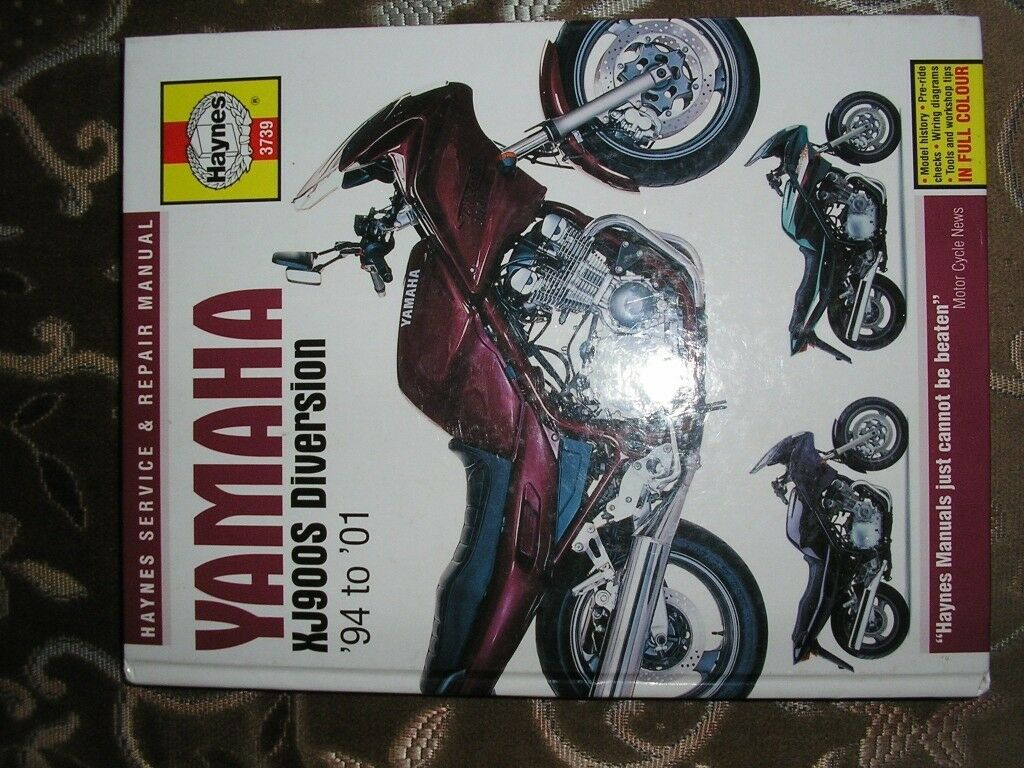 YAMAHA-XJ 900-DIVERSION-MANUAL -AS-NEW
