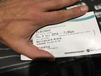 1 x Standing ticket PLACEBO Birmingham 8th December