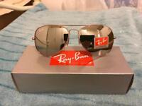 RayBan 3026 PINK aviator sunglasses