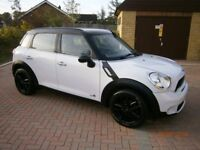 2014 MINI COUNTRYMAN COOPER SD 141BHP IN WHITE FULL SERVICE HISTORY