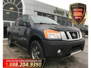 2015 Nissan Titan Cloth| Remote Start| Navigation| CD Player| 4X