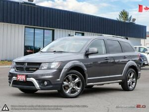 2015 Dodge Journey Crossroad,7 SEATER,NAVI,DVD,HEATED SEATS+S.WH