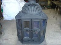 Dovre T2000S mltifuel stove with canopy