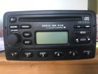 Ford cd radio with code