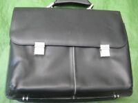 Brand New Toshiba Black Plastic Laptop Briefcase