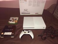 Xbox One S 500GB w/ Overwatch and Halo 5 [SEE DESCRITPION]