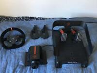 Mad Catz Xbox wheel and pedals