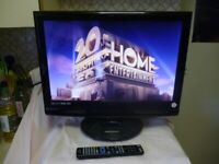 """Technika M22-36B-GB-TCDI-UK 22"""" HD Ready LCD Television with Freeview, DVD Player and iPod Dock"""