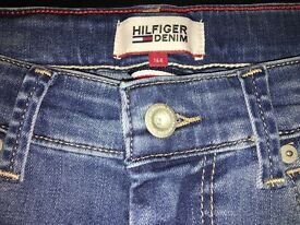 Tommy Hilfiger Boy's Slim Jeans age (164cm)