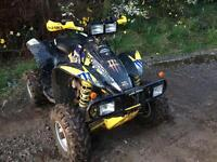 Polaris scrambler 4x4 quad