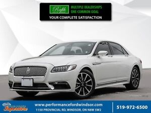 2017 Lincoln Continental Reserve ***CPO! Rates as low as 0.9% **