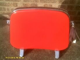 Red Retro Electric Radiator, Lincoln £40