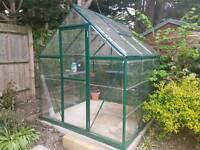 Greenhouse: Aluminium / Polycarbonate