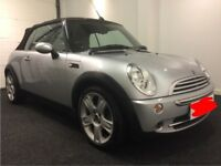 MINI COOPER CONVERTIBLE, FROM 2007 URGENTLY WANTED