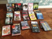 25 assorted dvds