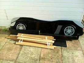 Car shaped bed