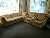 G Plan genuine retro three piece suite