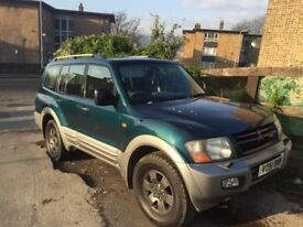 Mitsubishi shogun 3.2 did good condition 12 months not