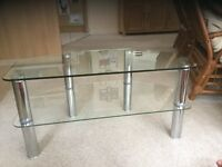 Glass TVs unit