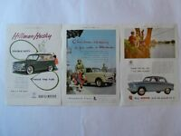 Motoring Advertisements of the 1930's & 1950's